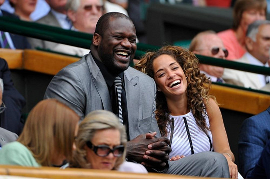 Zamilovaný pár zavítal na Wimbledon.