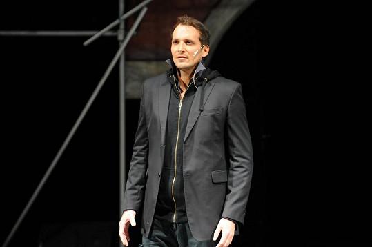 Radim Schwab na konkurzu na Fantoma opery