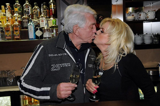 Jiří s manželkou