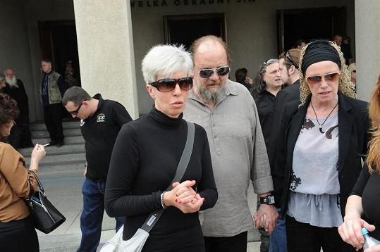 Marcela Březinová, Lešek Semelka a Alena Semelková.