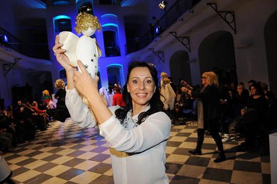 Heidi Janků a její andělská panenka jménem Theofil