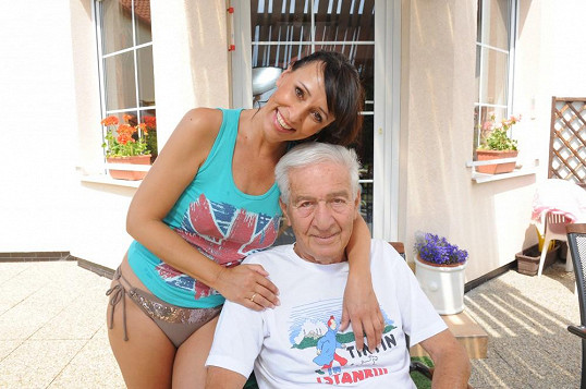 Heidi s manželem Ivem