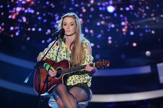 Takto Sabina Křováková vystupovala v SuperStar. Jak je vidno, hodně se změnila...