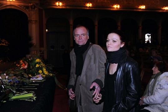 Igor Bareš s přítelkyní Antonií Talackovou.