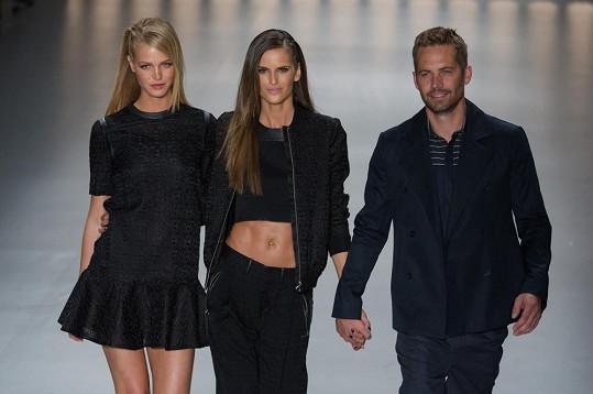 Erin byla spolu s modelkou Izabel Goulart a hercem z filmu Rychle a zběsile Paulem Walkerem hlavní hvězdou show.
