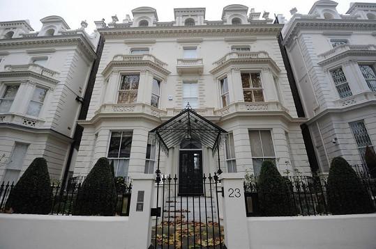 Dům v centru Londýna projde nákladnou rekonstrukcí.