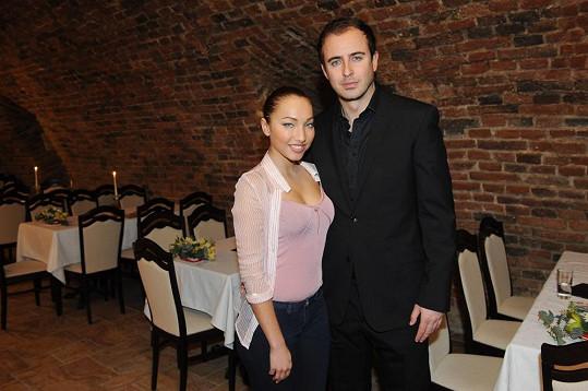 Miriam Bittóvá s expřítelem Mirkem Hrabětem