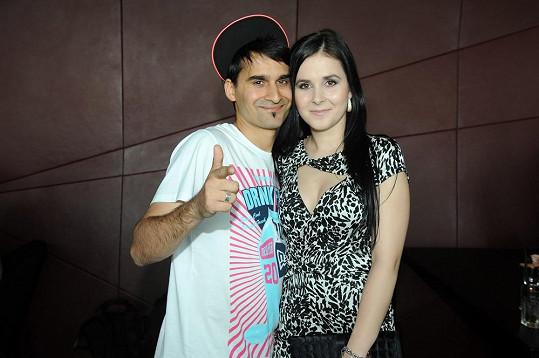 Radek Gipsy Banga s manželkou Veronikou