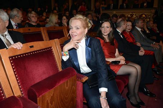 Dagmar Havlová vypadala výborně. A získala hned své dvě první zrcadla TýTý.