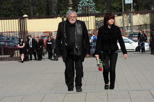 Jan Kačer byl zdrcený, nechtěl mluvit ani s novináři.