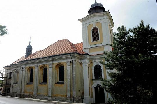 Agáta se vdá v kostele Nanebevzetí Panny Marie v Úněticích.