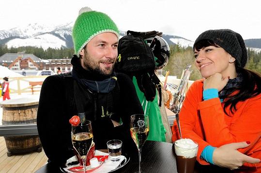 Marta Jandová si užívala romantickou dovolenou s přítelem Miroslavem Vernerem.