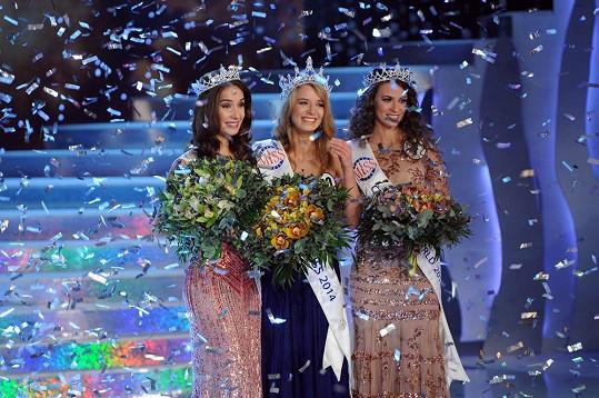 Vítězky České Miss 2014, zvítězila Gabriela Franková, titul Česká Miss World získala Tereza Skoumalová a Nikola Buranská byla Českou Miss Earth.