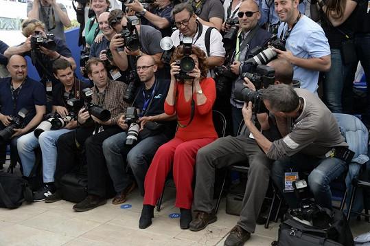 Sophia Loren mezi fotografy