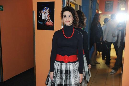 Lucia Šoralová hrála matku vlčici.