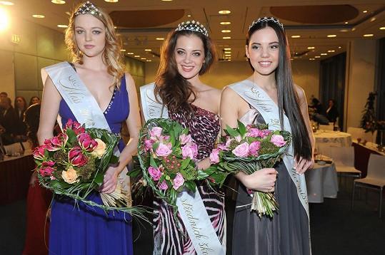 Andrea Žiačiková se stala vítězkou Miss středních škol.