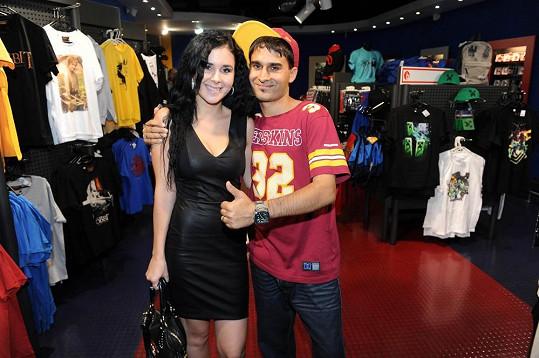 S manželkou Veronikou