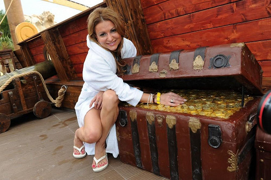 V aquaparku našla i poklad.
