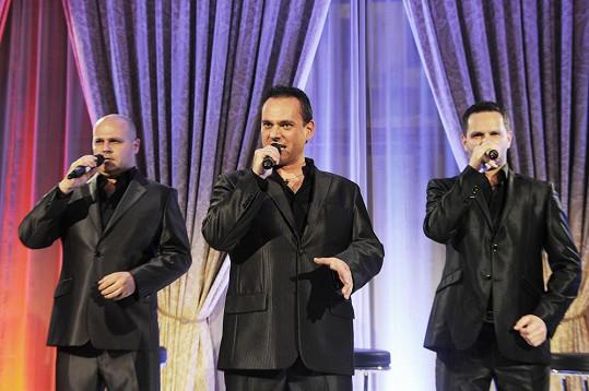 Trio La Gioia na křtu desky také zazpívalo.