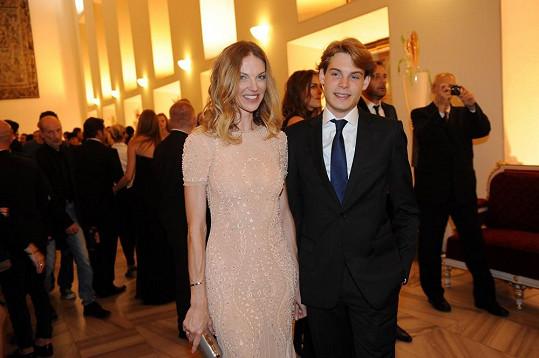 Pavlína Němcová a její syn Alain
