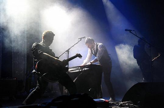 Mikoláš křtil kritiky ceněné sólové album Piano.