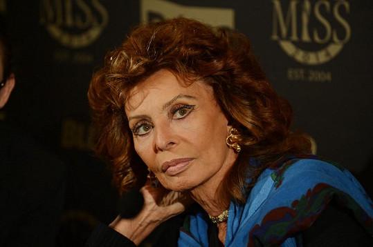 Slavná italská herečka byla velmi milá a sdílná.