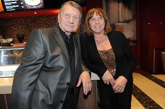Pepa Dvořák s manželkou