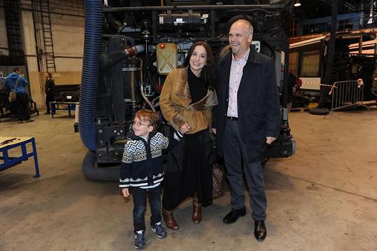 Míši a Románka se ujal Milan Křístek, generální ředitel pražského dopravního podniku.