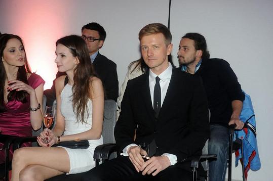 V hledišti nechyběl majitel agentury Czechoslovak Models Václav Dejčmar.