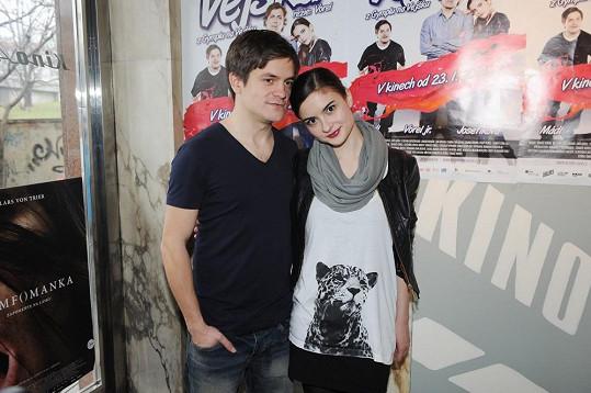 Eva s přítelem Jirkou Mádlem