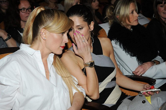 V kině seděla vedle Petry Faltýnové.