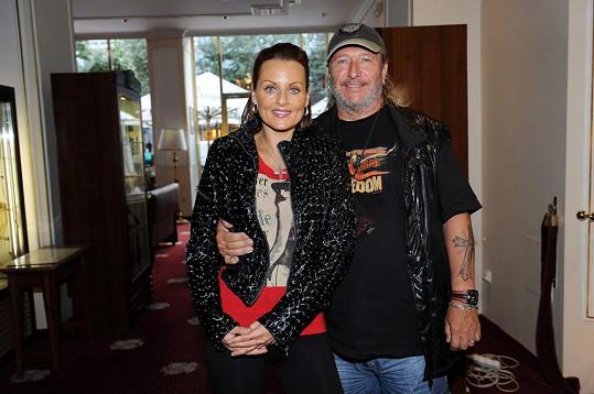 Olivie Žižková s manželem Honzou