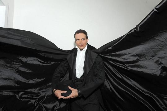 Radim jako Fantom opery. Hrát se bude od 13. září v GoJa Musi Hall.
