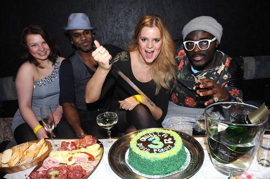 Ornella slavila narozeniny ve velkém stylu. S černochy a dýdžejem Uwou.