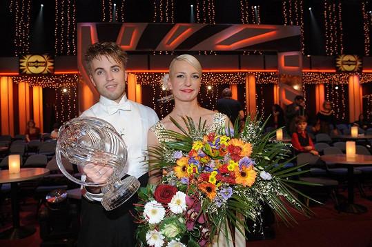 Anna Polívková a Michal Kurtiš slavili úspěch ve Star Dance v roce 2013.