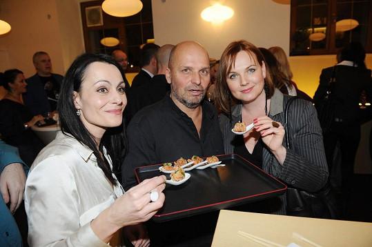 Nechyběly ani herečky z Cest domů Kamila Špráchalová a Vendulka Křížová.