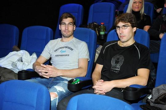 David a Tomáš si nenechali ujít premiéru filmu 300: Vzestup říše.