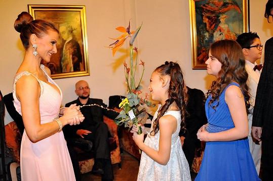 Yvetta Blanarovičová podporuje talentované děti z chudých rodin.