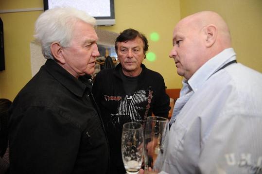 Na akci byli hosty i Jiří Krampol a Pavel Trávníček.