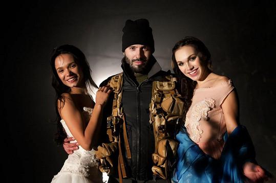 Kamila natáčela klip, kde se duševně svlékla, společně s Noidem a Gábinou Dvořákovou.