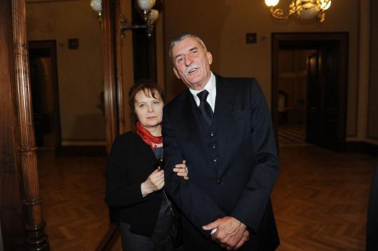 Martin Huba hrál její životní lásku.