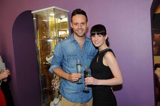 Michael a Eliška jsou krásný pár.