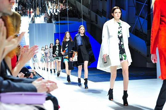 Defilé přehlídky Dior Cruise 2015
