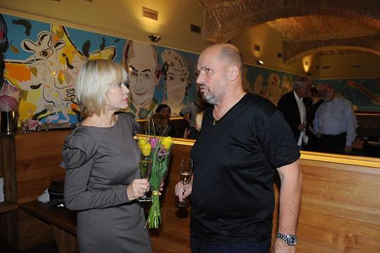 Zdeněk Pohlreich s Janou Švandovou