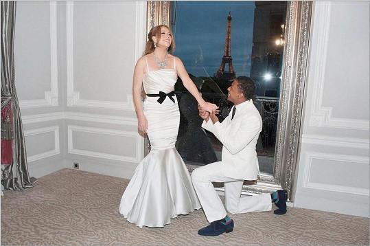 Mariah Carey s manželem Nickem Cannonem.