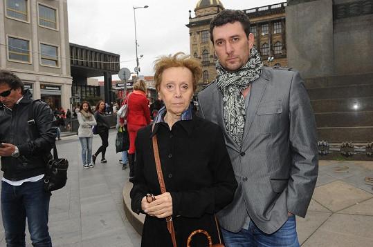 Domenico Martucci s matkou