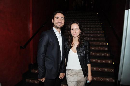 Veronika s manželem Biserem Arichtevem, režisérem seriálů Vyprávěj a První republika