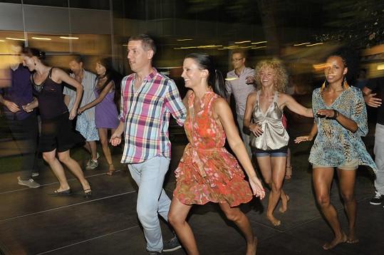 Při tanci bylo veselo.
