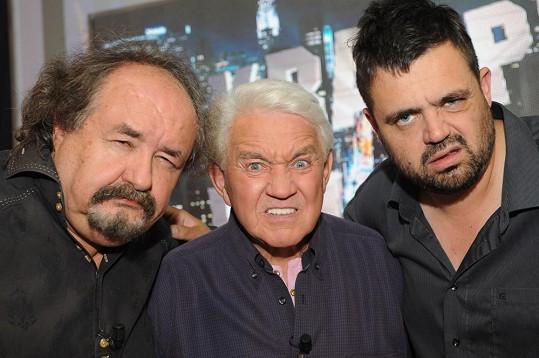 Petr Novotný, Jiří Krampol a Pavel Novotný