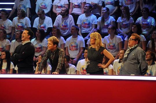 Martin Dejdar měl v týmu například tanečníka Jana Ondera či herečku Lucii Benešovou.